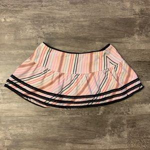 *BOGO* Betsey Johnson Striped Swim Skirt Coverup